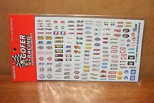 GOFER RACING DECALS DRAG RACING GOODIES 1/24-1/25 SCALE