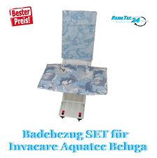PREMIUM Set de bain Elévateur de bain AQUATEC Revêtement pour Beluga Invavace