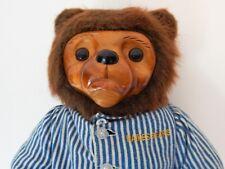 "Robert Raikes Bears Wood Face ""Pouty"" Bear 12057/15000"