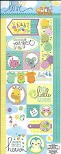 BABY LOVE Cardstock Scrapbook Stickers
