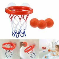 Kids Bath Toys Basketball Hoop & Ball Bathtub Water Play Set  Toddler Baby HOT