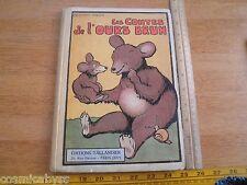 Les Contes de l'ours Brun French 1920s childrens book Benjamin Rabier Paris