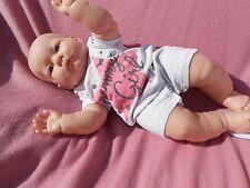 combishort  bébé naissance ou compatible avec reborn,baigneur colin 48cm