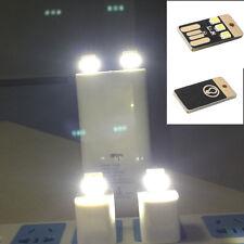 2stk Kreative USB-Camping-Lampe Tragbare Schlanke USB-Licht Weißstrahl Hot!!!