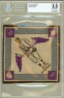 1914 B18 Blanket ED KONETCHY Pittsburgh Pirates Purple Pennants BGS 3.5 VG+