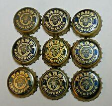 9 - PABST BREWERIES - CORK BEER BOTTLE CAPS - MILWAUKEE, WISCONSIN