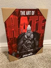 HATE Art Book Kickstarter Exclusive - Adrian Smith CMON Board Game Brand New