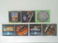 Star Trek PC Games Lot: Dominion Wars, Voyager Elite Force, Armada... good cond
