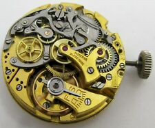 Minerva Chronograph Watch Movement 2 registers incomplete for parts ...