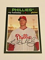 2012 Topps Archives Baseball Base Card - Roy Halladay - Philadelphia Phillies