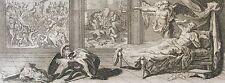Esdras Livre Quatrième F DELAMONCE G SCOTIN 1717 Israël Bible