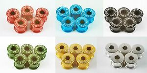 KCNC Chainring Bolts for Double Chainring 5pcs/set