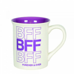 Our Name is Mud - BFF / Best Friends Forever Becher *NEU & OVP*