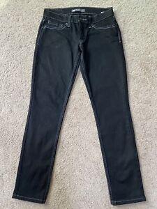 Women's Levi's Black Too Superlow 524 jeans size 5 Short