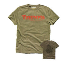 Genuine TRIUMPH Motorcycles Brock T-shirt taglia small Da Uomo ERA £ 28 ora £ 18