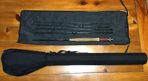 "Remington Wayfarer WFR 764/5 7'6"" 4wt 5 Pc Fly Rod With Bag And Case Lot P48"