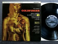 JOHN BARRY Goldfinger original motion picture score UNITED ARTISTS LP Stereo SUL