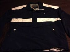 VTG Guess 1/2 Zip Men XL Pullover Windbreaker Jacket 90s Navy White
