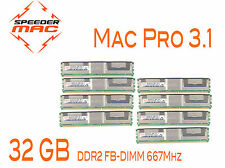  Kit Mémoire 32 GB (8x 4GB) DDR2  667MHz - FBDIMM pour Mac Pro 3.1 Early 2008