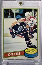 1980-81 Wayne Gretzky OPC Hockey Card #250 2nd Year Edmonton Oilers