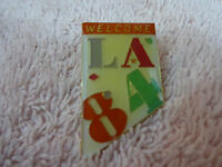VINTAGE NEW, WELCOME LA 84 OLYMPICS PIN