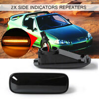 2x LED Side Marker Light Fender Indicator Turn Signal For 996-00 HONDA Civic EK