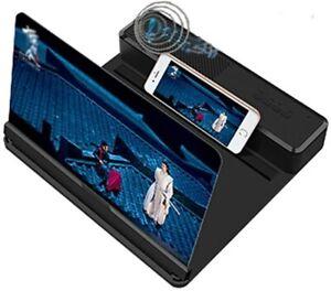 Loupe d'écran 3D, 12 pouces. Bluetooth, amplificateur de films vidéos Idéal