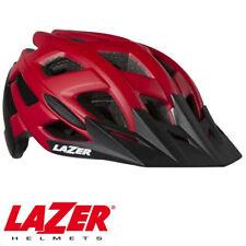 LAZER ULTRAX MTB MOUNTAIN BIKE CYCLING TRAIL HELMET - MATTE RED / BLACK