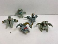 SpinMasters Bakugan - Gray/Haos Lot of 5 Figures - Toys