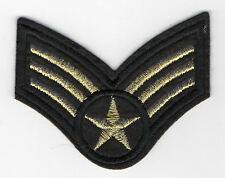 US airforce sargento oros Patch Bucket sargento United States Patch