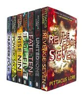 The Lorien Legacies Series By Pittacus Lore 7 Books Collection Set Power of Six