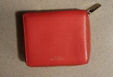COACH HOT PINK  ZIP AROUND WALLET