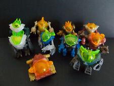 Lot série complète Kinder 10 Extra-Robots 2S France 2006 + 10 BPZ