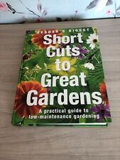 Short Cuts To Great Gardens. Gardening Books. Grow Your Own