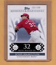 Topps Moments & Milestones - Josh Hamilton 2007 Rookie Season  /150