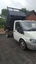 Ford transit tipper  moted