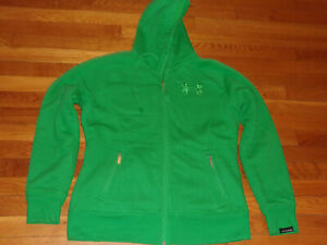 UNDER ARMOUR STORM FULL ZIP HEAVYWEIGHT HOODED SWEATSHIRT JACKET WOMENS LARGE