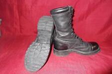 Military 7 M Corcoran Black Leather Jump Combat Boots USGI Men Boys Vietnam #408
