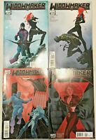 WIDOWMAKER#1-4 VF/NM LOT 2011 BLACK WIDOW MARVEL COMICS