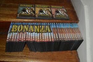 LOT 37  DVD SERIE  TV BONANZA DU 1 AU 34 + 3 DVD AVEC 1 SEUL TITRE WESTEN ZONE 2