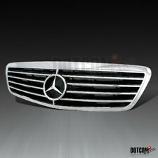 1999-2003 Mercedes Benz S Class W220 Assembly Chrome ABS Front Hood Grille Grill
