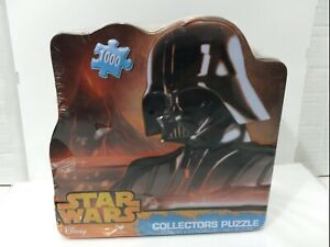 "NEW Star Wars-""Darth Vader"" Collectors Puzzle in Metal Tin 1000 Pieces"