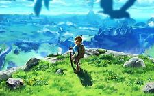 Poster A3 The Legend Of Zelda Breath Of The Wild 09