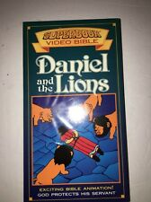 Superbook Video Bible Daniel & The Lions VHS RARE COLLECTIBLE VINTAGE FAST SHIP