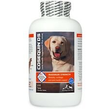 COSEQUIN DS Plus MSM For Dogs (132 Chewable Tablets)  Nutramax Joint Supplements