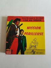 """Film super 8 Disney """"L'ile au trésor, Mission périlleuse"""" couleur"""