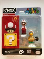 K'NEX Nintendo Super Mario 3D Land Fire Mario and Hammer Bro + Mystery Figures