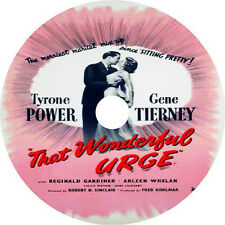 That Wonderful Urge _ Tyrone Power Gene Tierney 1948 V rare
