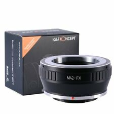 K&F Concept M42-FX Camera Lens Mount Adapter Ring M42 Screw to Fuji Fujifilm FX