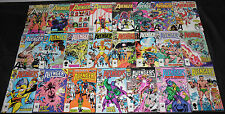 Marvel Bronze-Modern AVENGERS TITLES 286pc Count Mid-High Grade Comic Lot VF-NM
